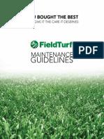 Fieldturf Brochure Maintenance-guidelines Apr2017 006
