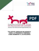 SUGERENCIAS RELATIVAS A LA IDENTIFICACIÓN DE LAS MUJERES.pdf