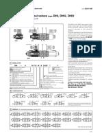Solenoid directional valves