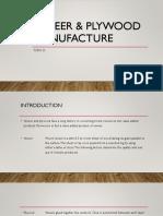 Veneer & Plywood Manufacture