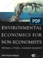 Environmental Economics for Non Economists