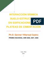 2018 Libro Interacción Sísmica Suelo-Estructura en Edificaciones Con Plateas de Cimentación