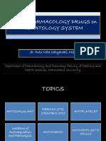 Obat Sistem Hematologi
