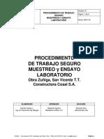 Procedimiento de Trabajo Densimetro y Muestreo de Hormigon