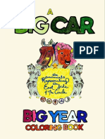 Big Car 2015 Coloring Book