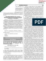 Ordenanza de ampliación de flota vehicular en el servicio de transporte urbano e interurbano público de pasajeros de la Provincia de Cañete