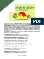 Volantino di tutti gli incontri Leggevamo 4 libri Forlì settembre 2010