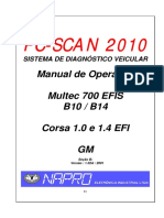 Manual de Injecao GM Multec 700 Corsa EFI