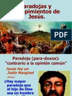 03. Jesús es paradojas y rompimientos