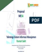 Proposal Produk MESA 2018