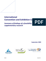 International Convention and Exhibition Centre Feasibility Report