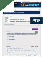 Fazer Teste_ Avaliação Geral Da Disciplina – Modelo Itil.