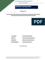 A) Informe Topografico MODELO.