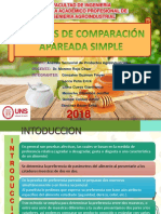 Prueba de Comparación Apareada Simple FINAL