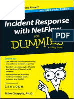 Incident Response With NetFlow for Dummies Lancope Special Edition