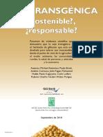 Soja Transgenica Sostenible