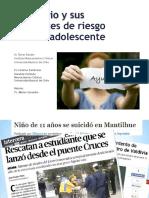 Conductas Suicidas en Adolescentes