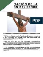 Meditación de La Pasion de Cristo - Parroquia San Pío (1)