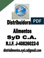 Carpeta de La Distribuidora SyD