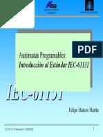 07 Norma Prog Indust IEC 61131 - Mateos
