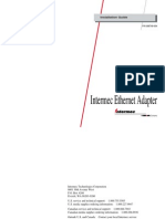 Intermec Ethernet Adapter Guide[1]