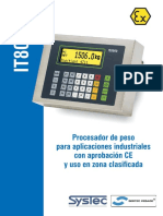 IT8000 MODULO DE PESO