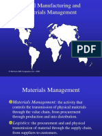 GSCM-18-Global Manufacturing and Materials Management