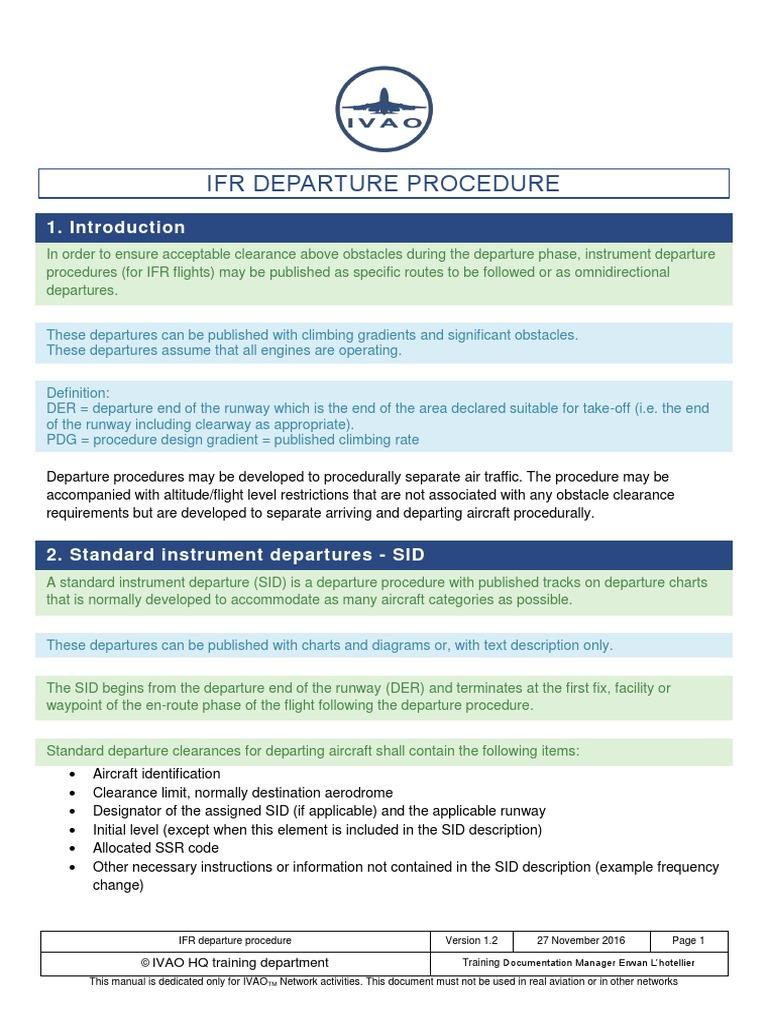 Spp Apc Departure Procedure Instrument Flight Rules Air Traffic Control