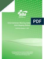 BNZ AIBA Anti-Doping Rules January 1 2015