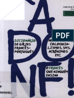 Agnès Aubertot, Xavier Rodríguez Rosell-À Donf! Dicionário de Gírias, Neologismos, Coloquialismos, SMS, Acrônimos, Etc_ Francês-português-Martins Fontes (2011)
