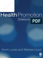 50332299 Kevin Lucas Health Promotion Evidence and Experience Sage Publications Ltd 2005 2
