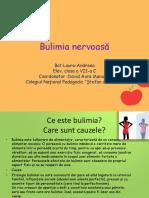 Bulimia Proiect