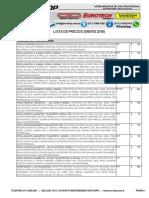 Pro-shop Herramientas - Lista de Precios Enero 2018