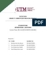 OOP Mini Project Report