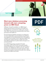 Meet more database processing demand with more computing power on IBM Cloud