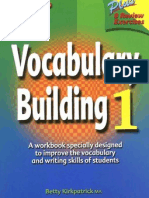 Vocabulary Building Workbook 1