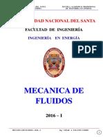 Mec. Fluidos - 2016 - I - Sesion Nº 2