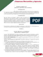 Ley de Impusetos a Empresas Mercantiles y Agricolas
