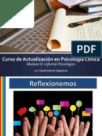 Modulo IV-Informe Psicologico Clinico