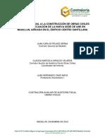Construcción de Obras Civiles Para La Adecuación de La Nueva Sede de UNE en Medellín Ubicada en El Edif. Centro Santillana (1)