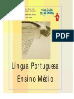 Apostila Português Ensino Médio