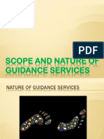 Scope and Nature of Guidance Services PDF