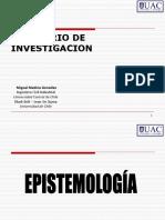 Epistemologia de La Investigación
