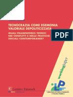 Lastrico, Valerio - Tecnocrazia Come Egemonia Valoriale Depoliticizzata