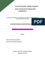 CURSO DISCIPLINAR DEL ÁREA DE CIENCIAS SOCIALES