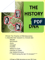 history of dna - scientists