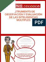 Instrumentos Para Detectar Las Inteligencias Mult