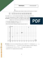 Cours Math - Statistiques - Bac Math Mr Hammouda Fethi