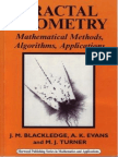Jonathan M Blackledge, A.K. Evans, Martin J Turner Fractal Geometry Mathematical Methods, Algorithms, Application