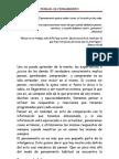 PENSAR - EL PENSAMIENTO